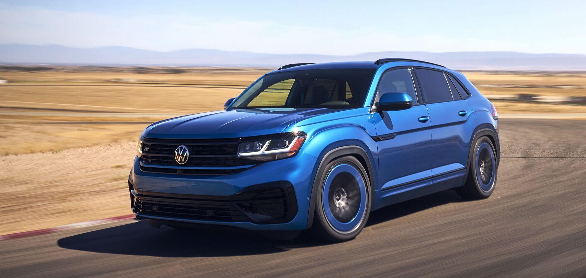 Volkswagen показав ефектний кросовер Atlas Cross Sport GT Concept