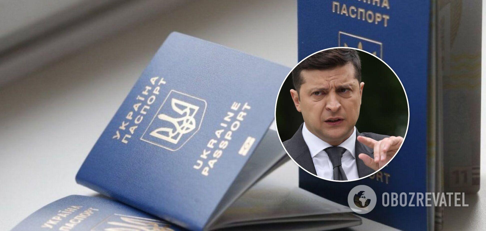 Зеленский обязал чиновников указывать второе гражданство в декларациях. Документ