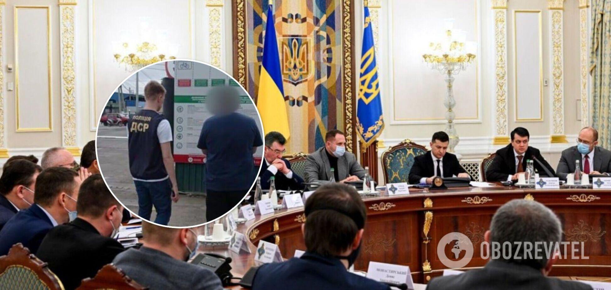 Из Украины выдворили уголовного авторитета, попавшего под санкции СНБО. Фото