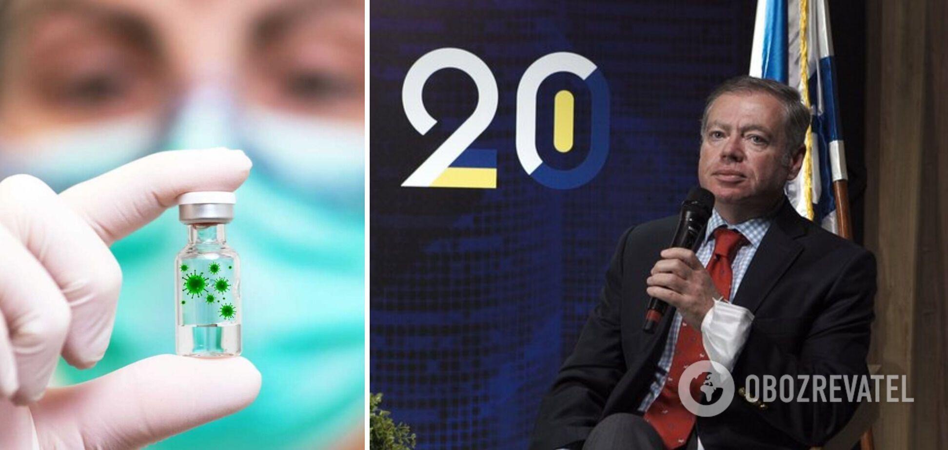 Посол Корнийчук провёл встречу с представителем компании NRx по вопросу вакцин против COVID-19