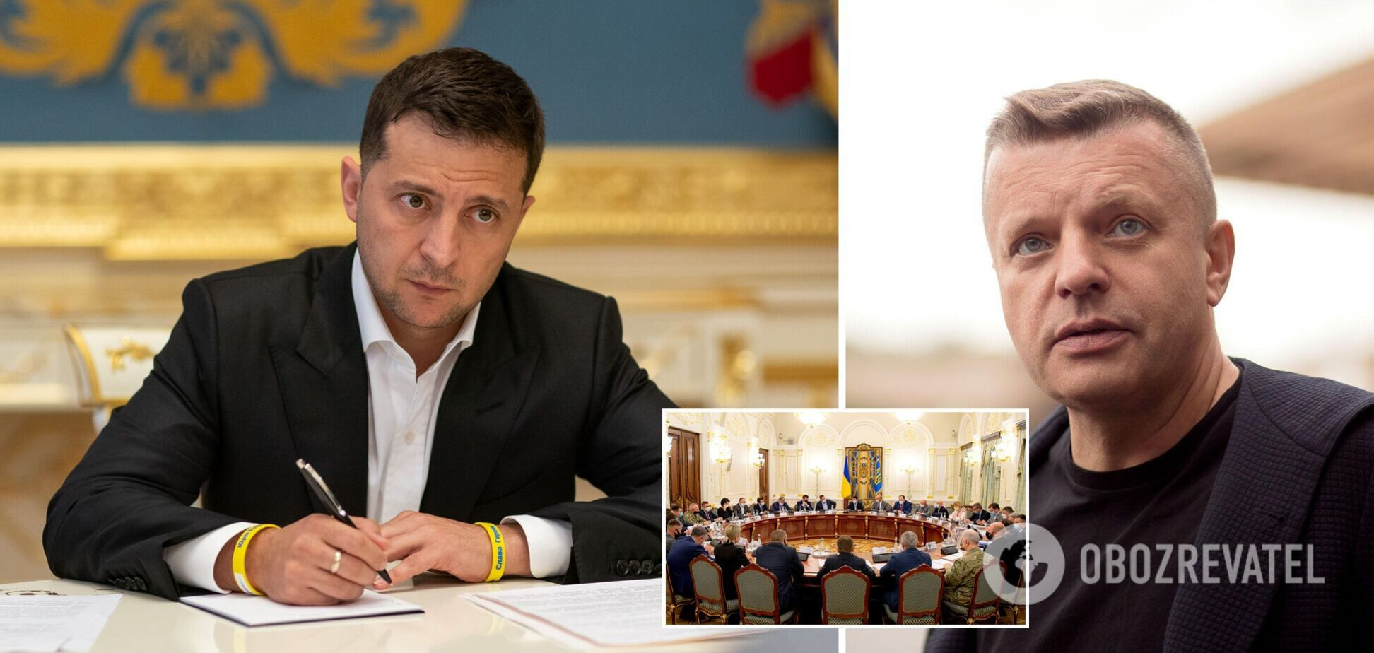 Новости Украины: Зеленский утвердил решения СНБО, а российский журналист попал в базу 'Миротворца'