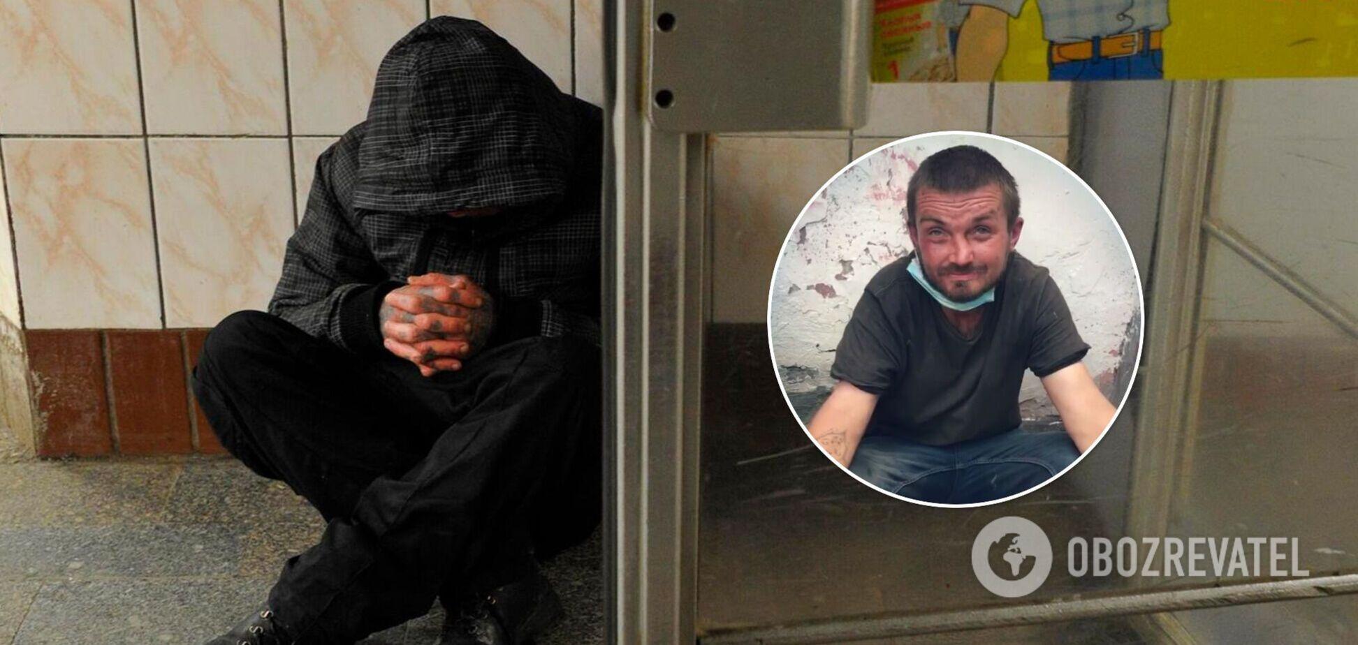 Во Львове разоблачили 'однорукого' попрошайку. Видео 'исцеления'