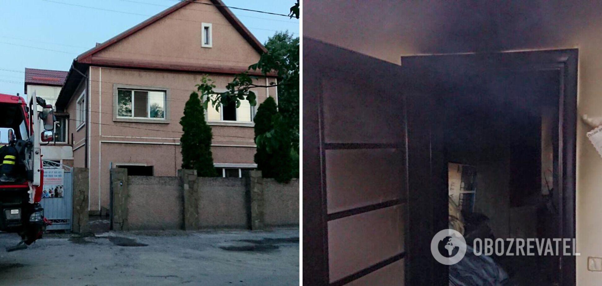 В Кривом Роге горел частный дом престарелых: спасены более 20 человек. Фото и видео