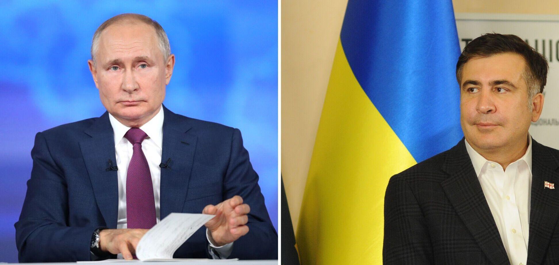 Саакашвілі назвав ім'я вождя СРСР, яким захоплюється Путін