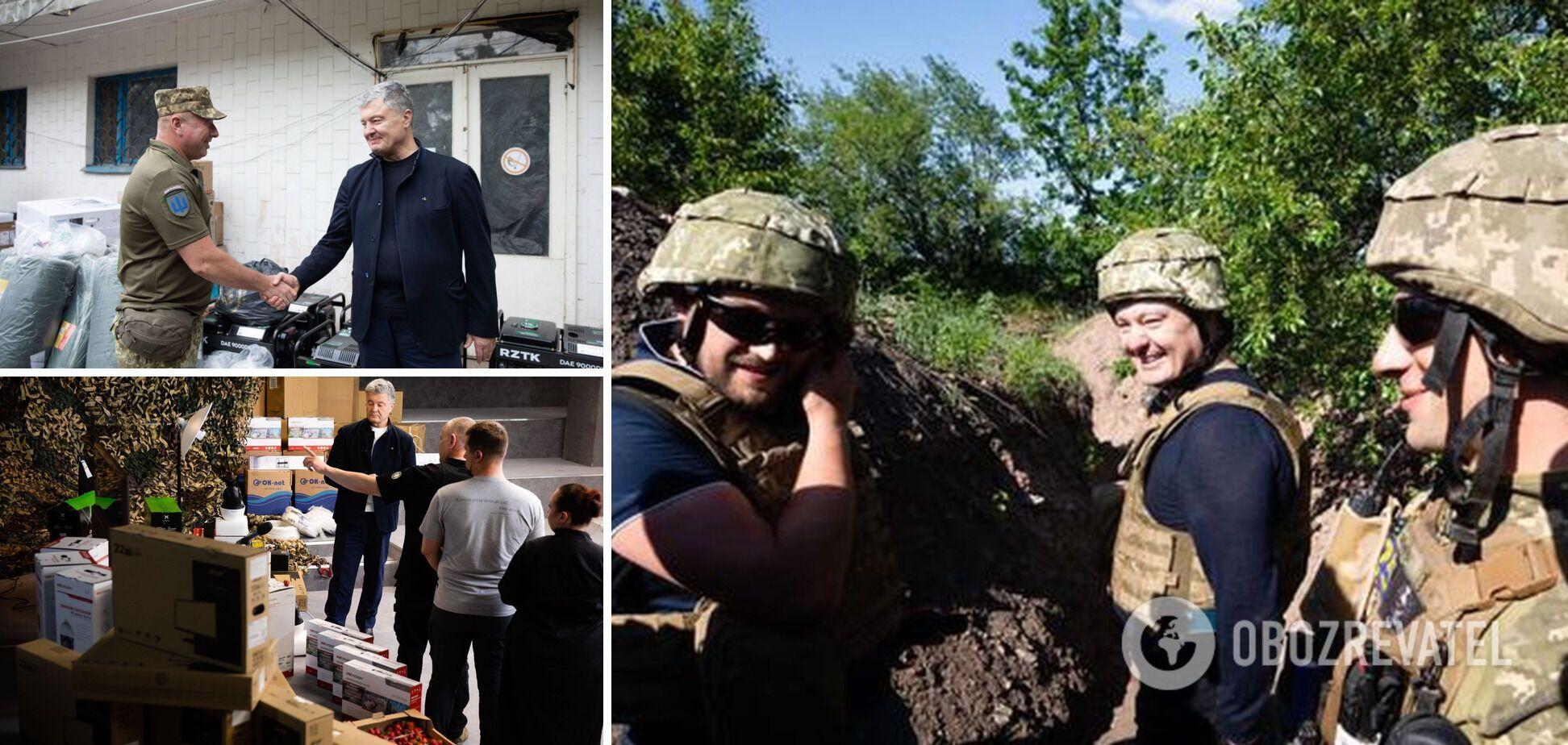 В сети показали центр видеоразведки, который купили волонтеры с Порошенко
