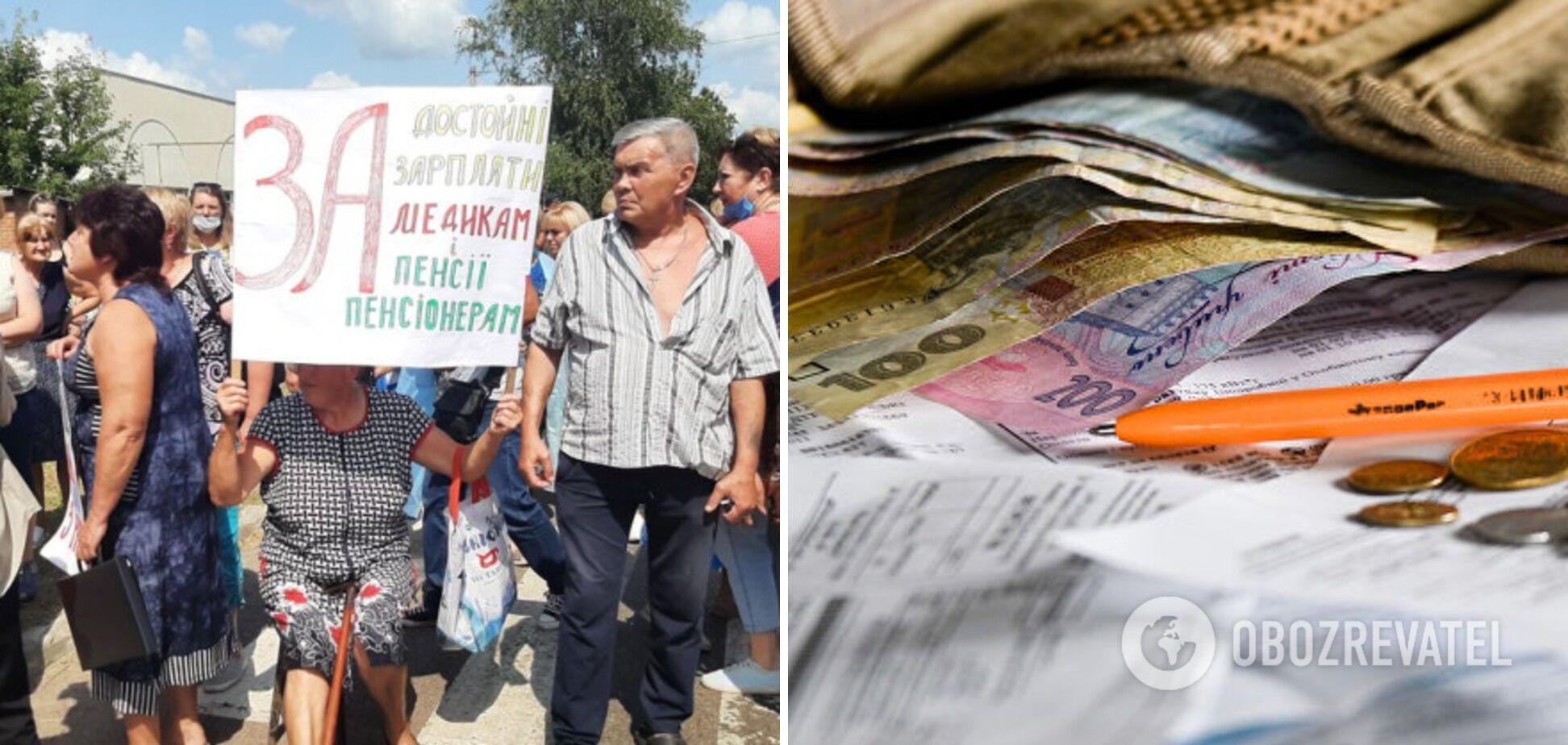 На Харьковщине медики перекрыли государственную трассу из-за долгов по зарплате