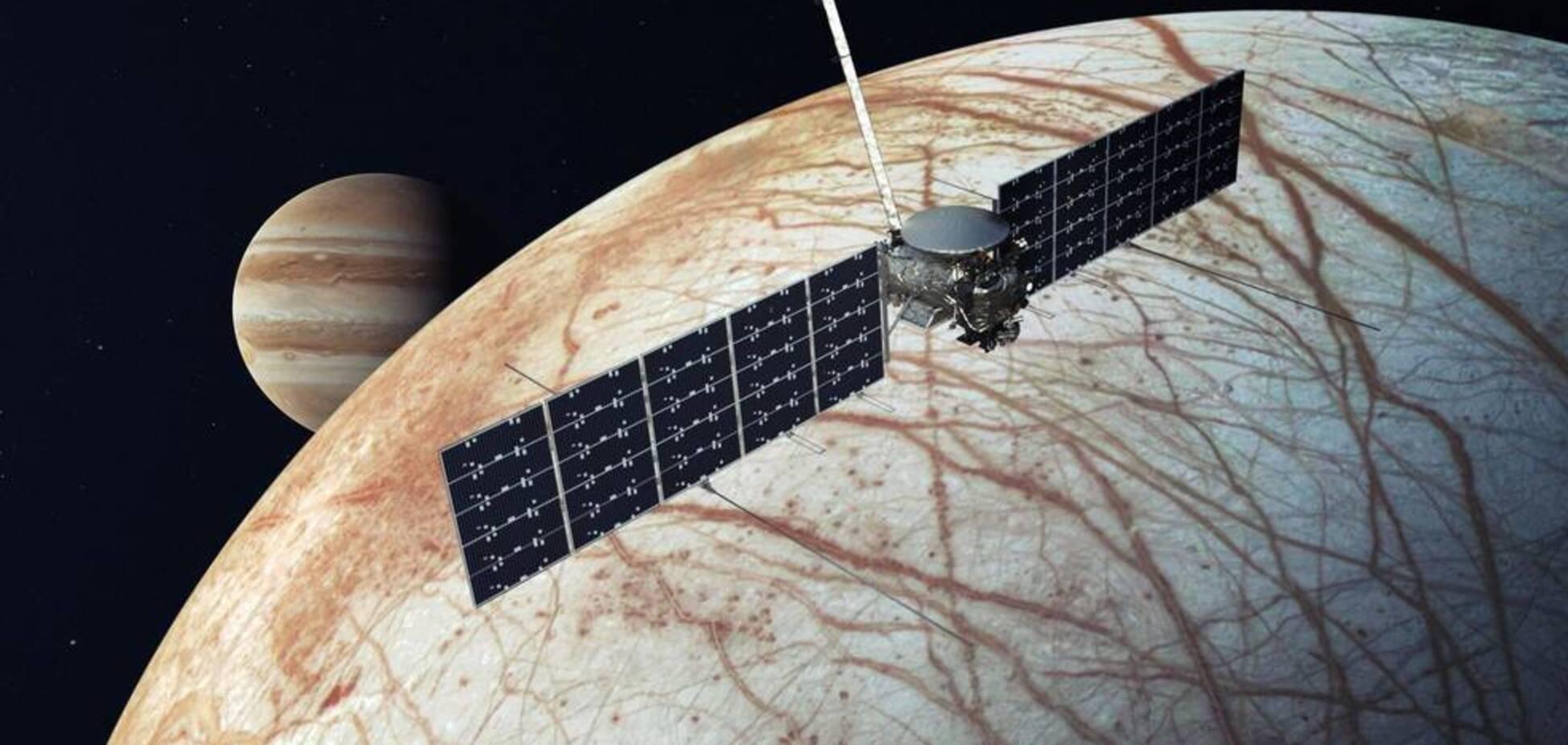 SpaceX запустит зонд NASA на спутник Юпитера