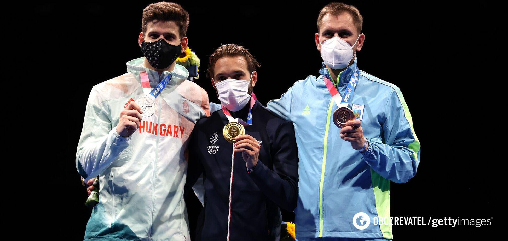 Церемонія нагородження України на Олімпіадi-2020