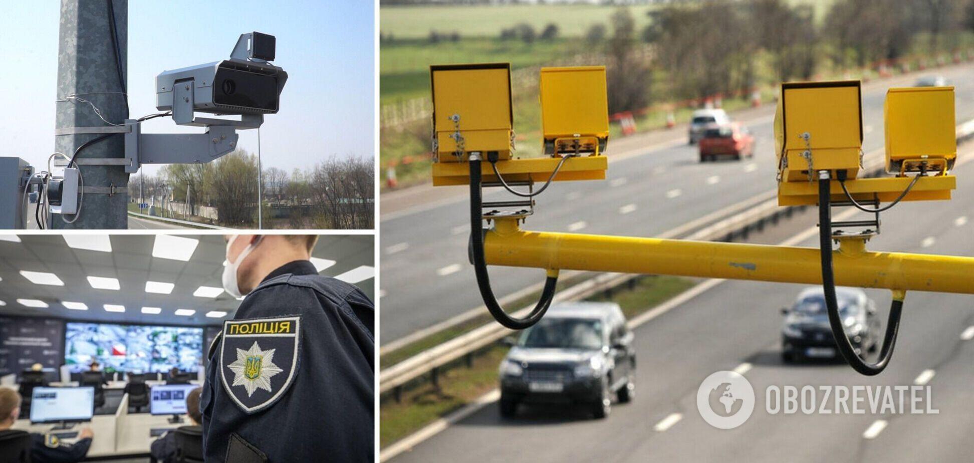 В Україні з 26 липня запрацюють нові камери фіксації порушень ПДР: області, траси і карти