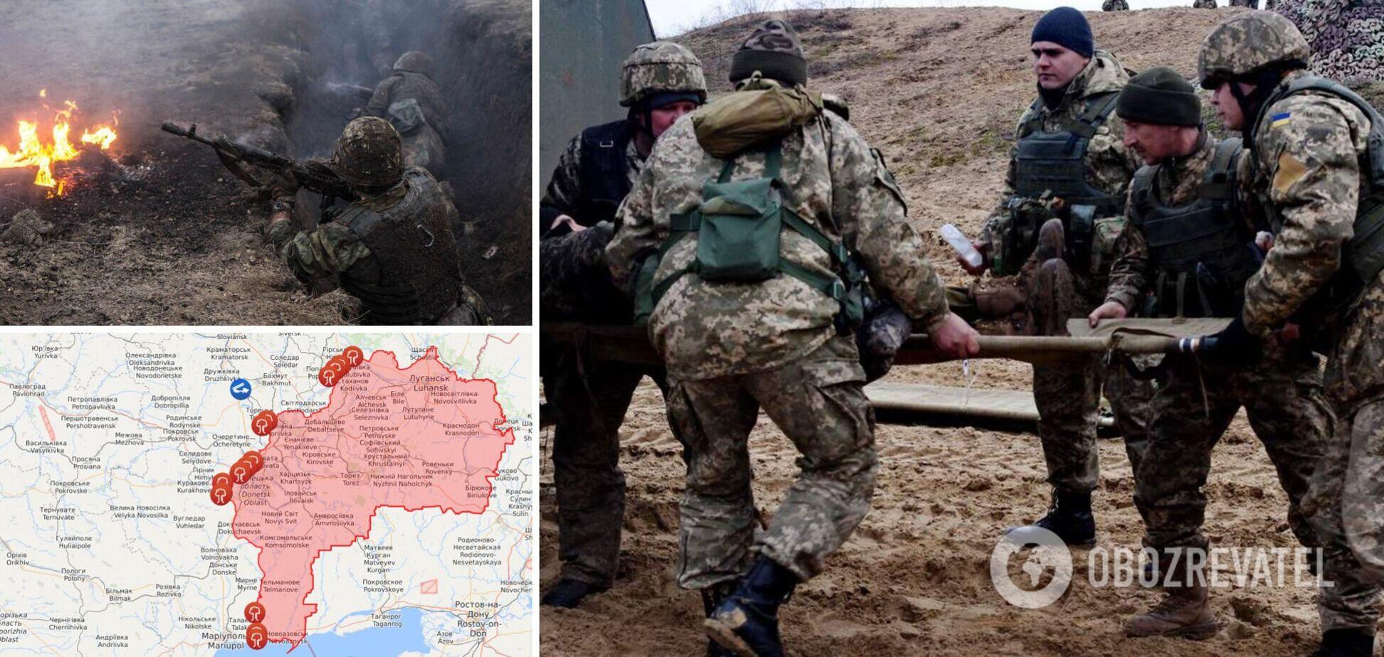 Наемники РФ ранили бойца ВСУ: в штабе ООС рассказали об обстрелах на Донбассе