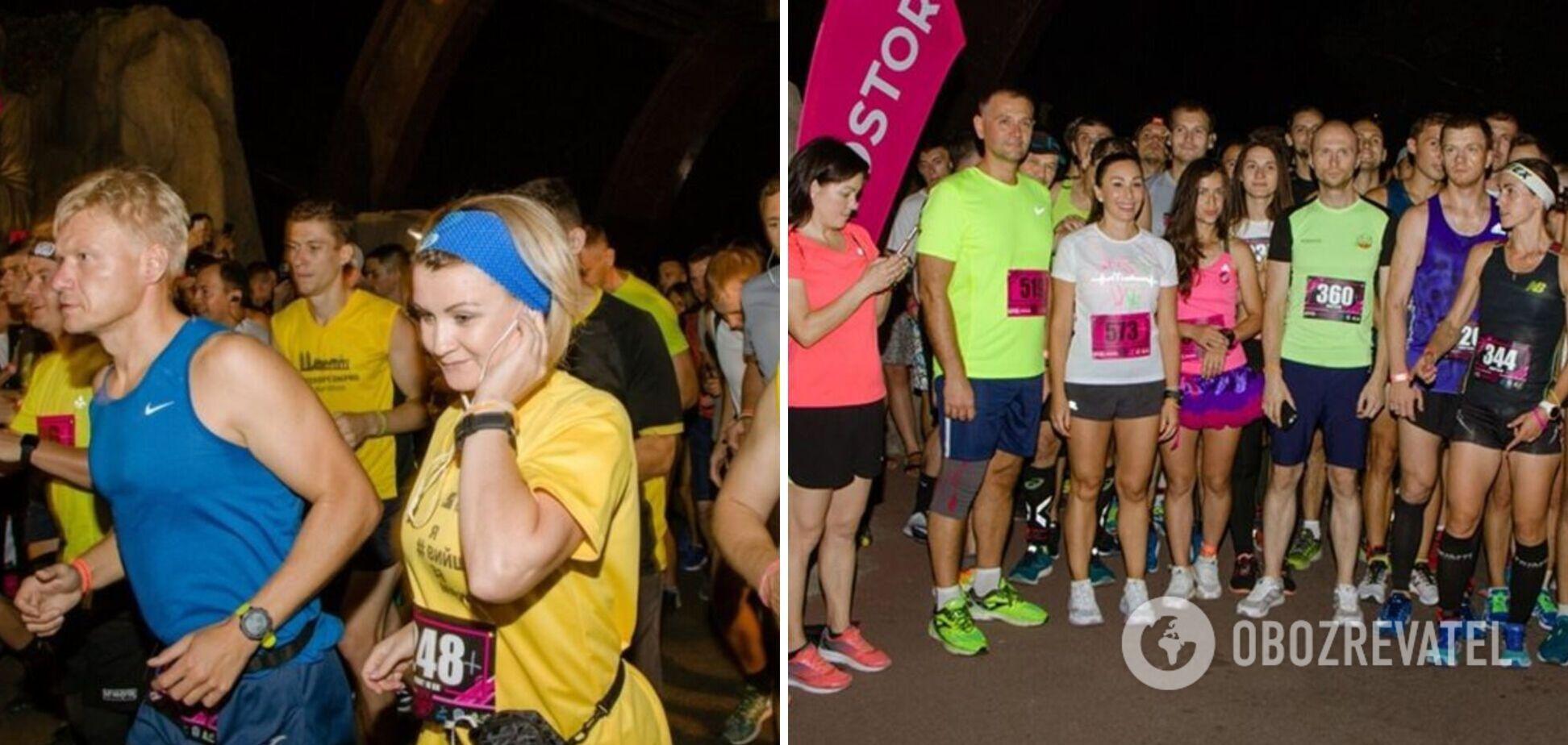 У Дніпрі відбувся забіг '10k Night Run': фото яскравої спортивної події