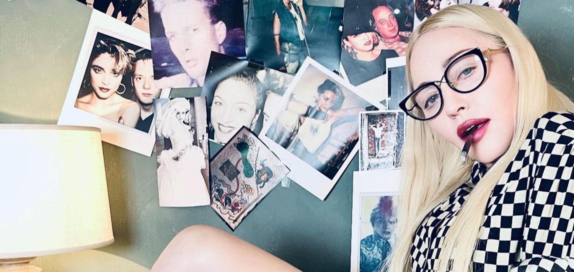 62-річна Мадонна засвітилася в коротких шортах на відпочинку з сім'єю. Фото