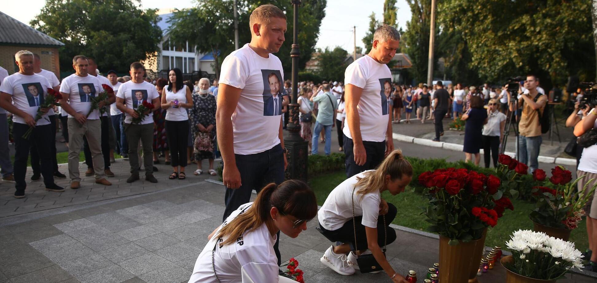 В Кременчуге состоялась памятная Хода имени убитого экс-мэра Олега Бабаева