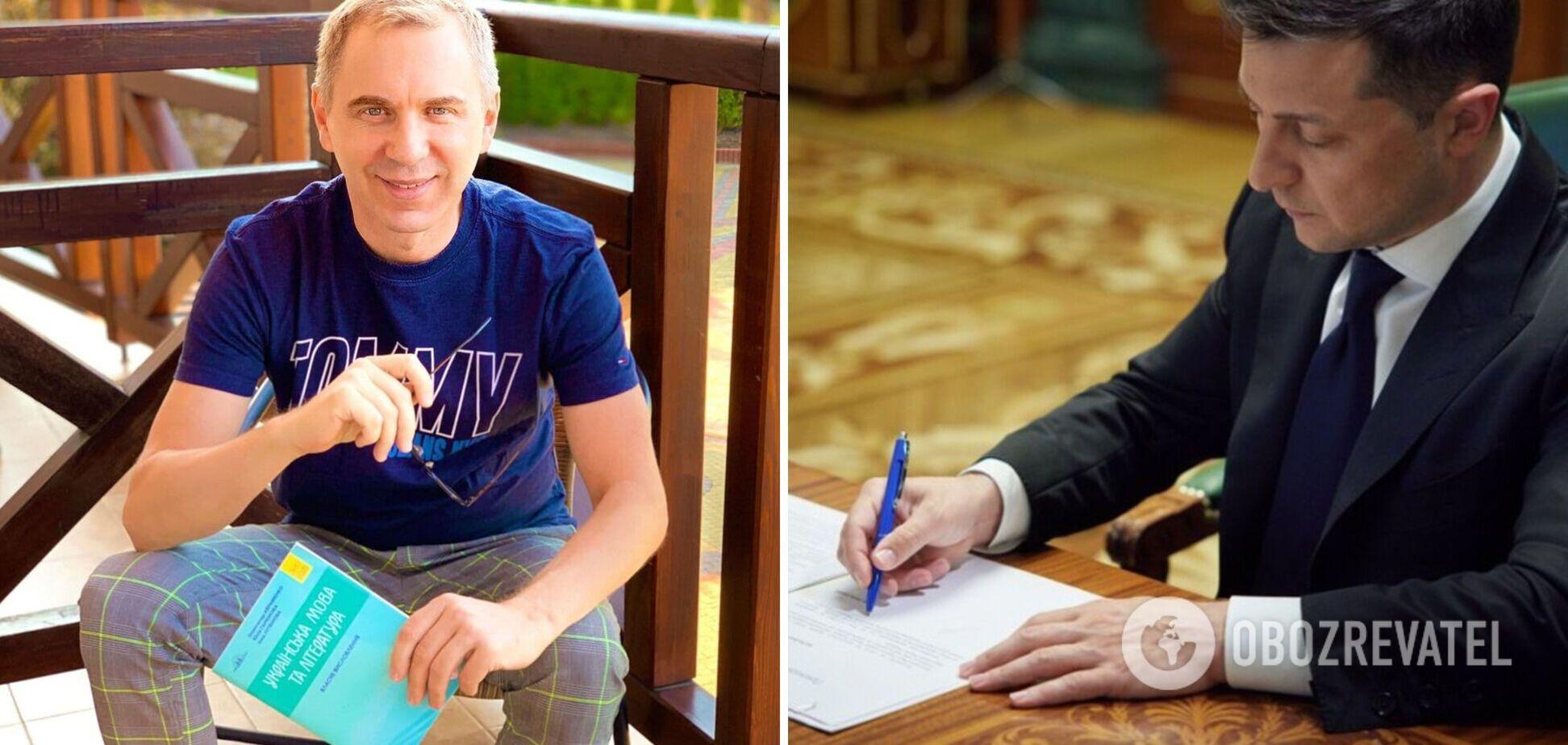 'Не безнадійний': Авраменко розповів, як вчив Зеленського української мови