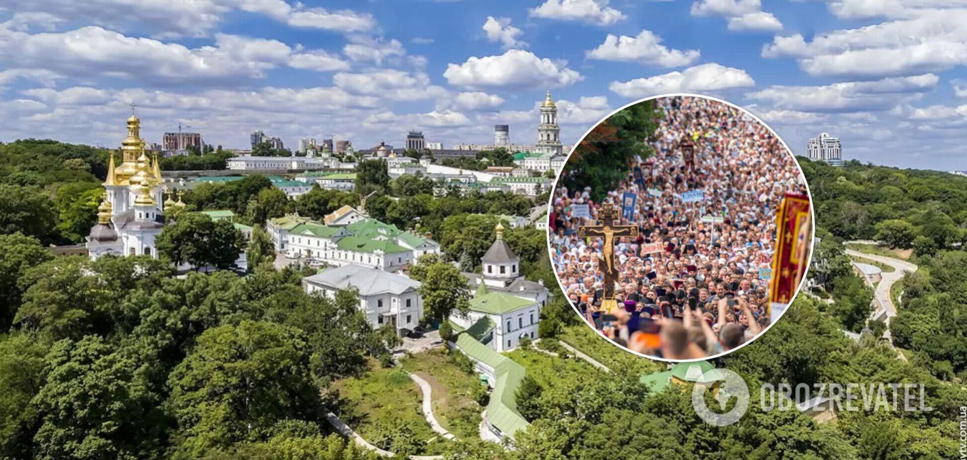 В центре столицы проведут Крестный ход