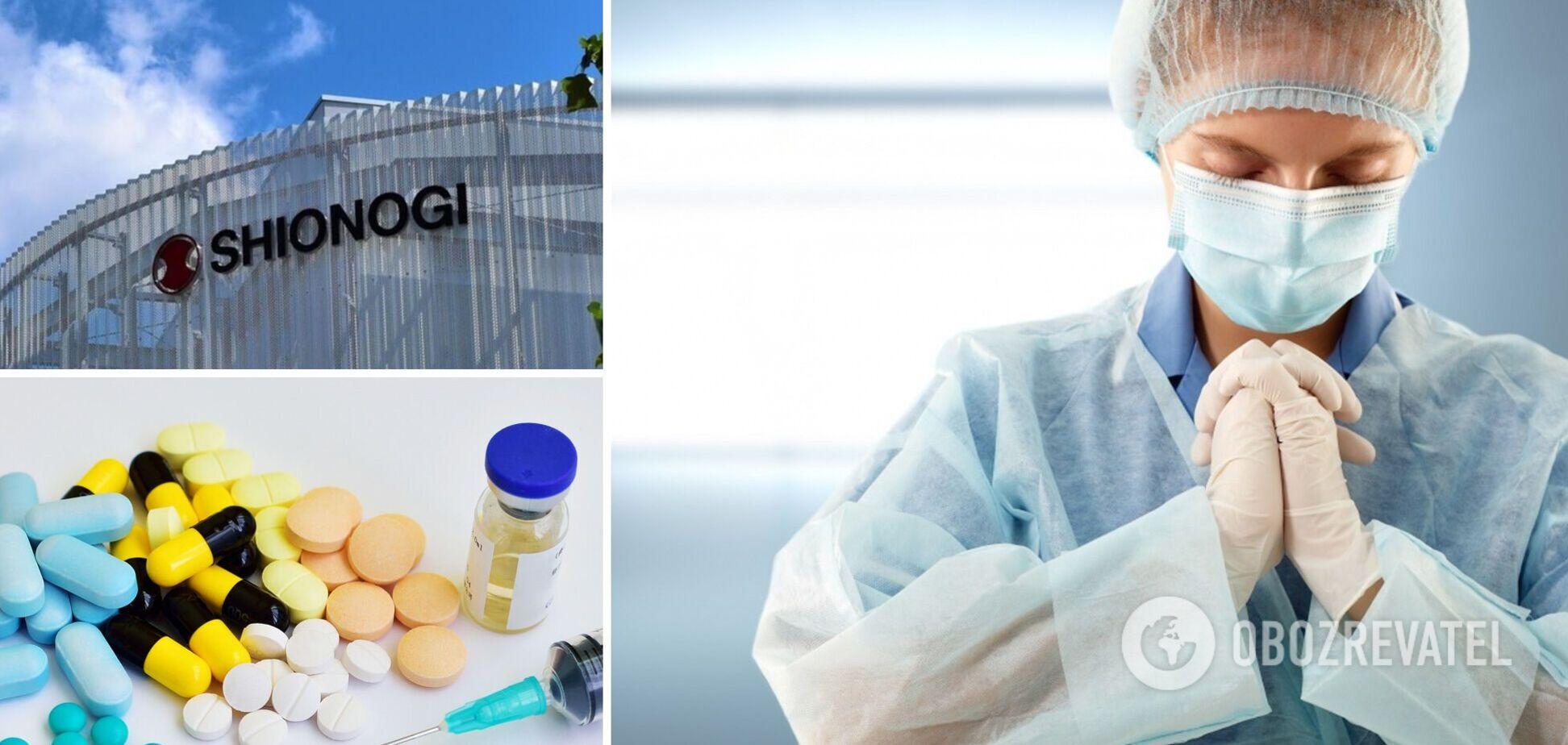 Таблетки от коронавируса – Япония