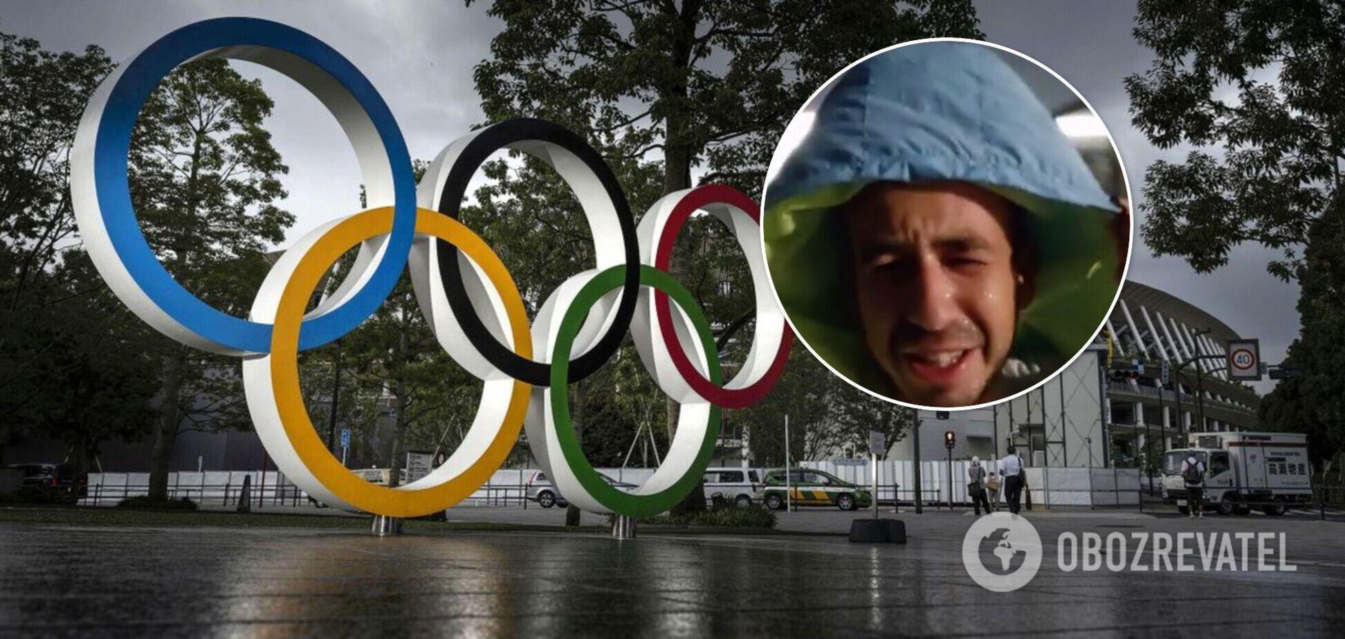Олимпиада-2020: на Токио обрушился тайфун. Видео