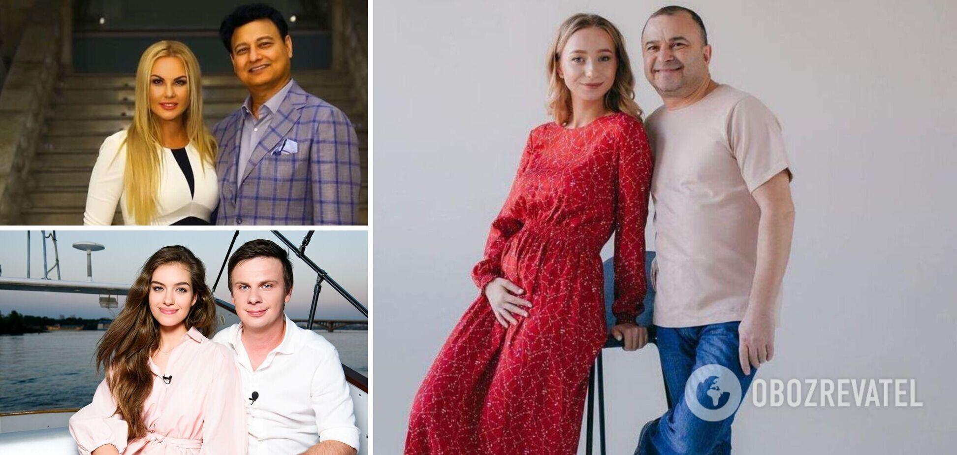 В шоу-бизнесе многие пары с разницей в возрасте