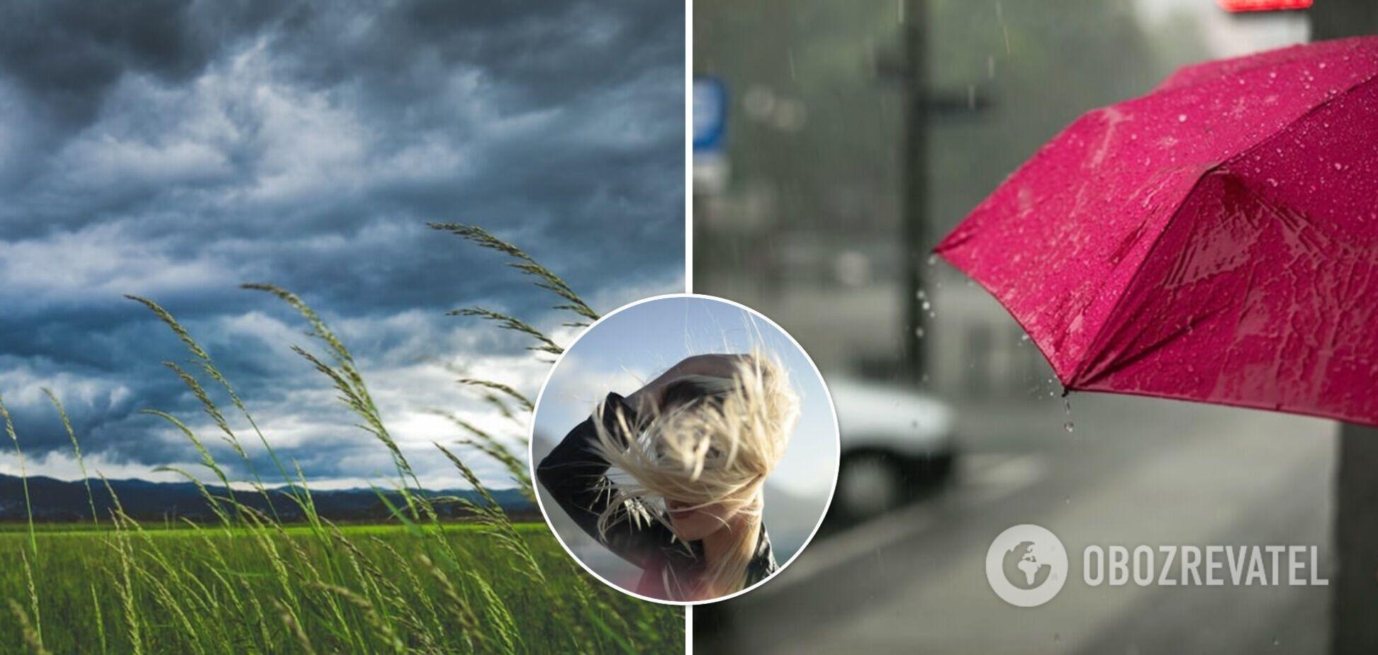 Грози, град та шквали: синоптики оголосили штормове попередження