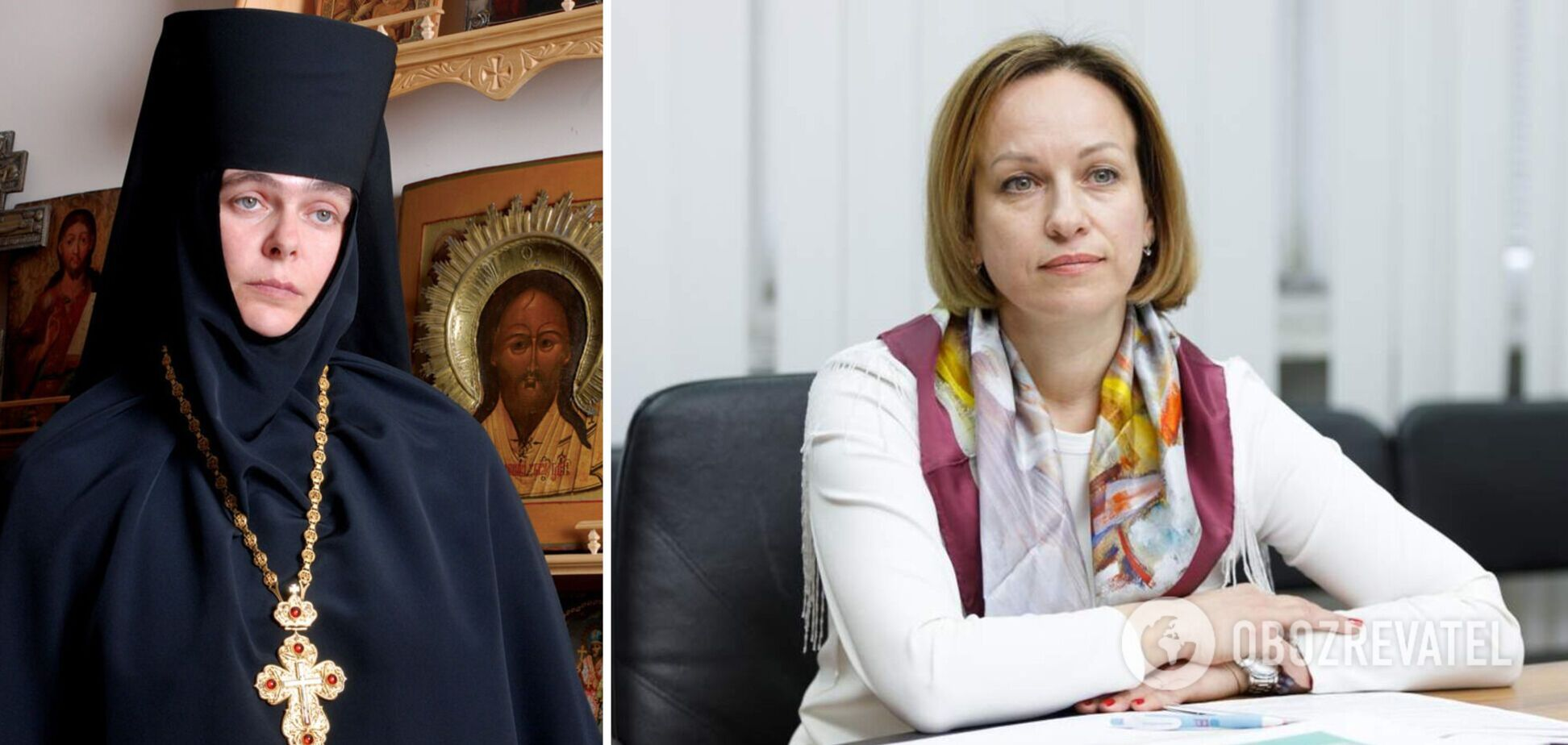 Лазебная открыла в Одессе убежище в монастыре УПЦ МП: его настоятельница говорила о 'гражданской войне' в Украине. Видео