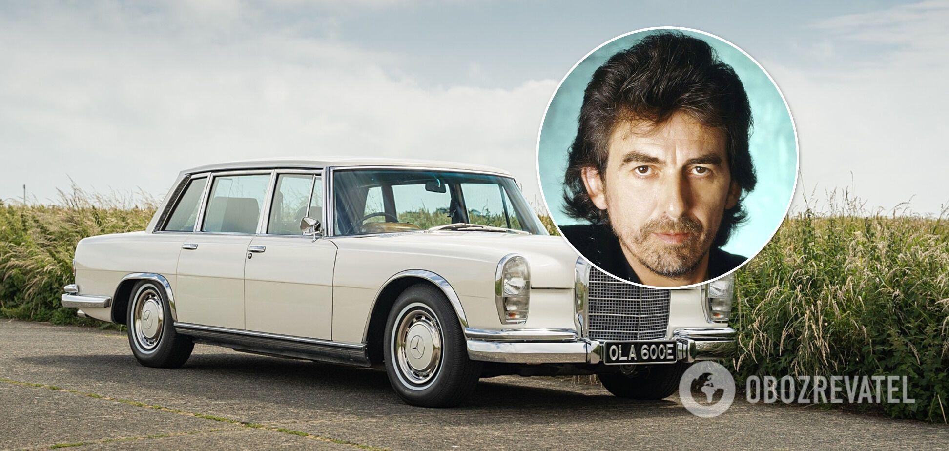 Mercedes 600 Джорджа Гарріса з Beatles піде з молотка. Відео