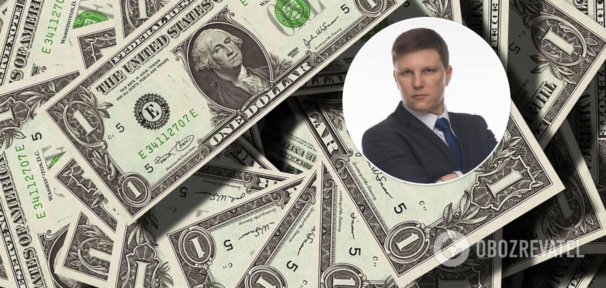 Шевчишин розповів про курс долара