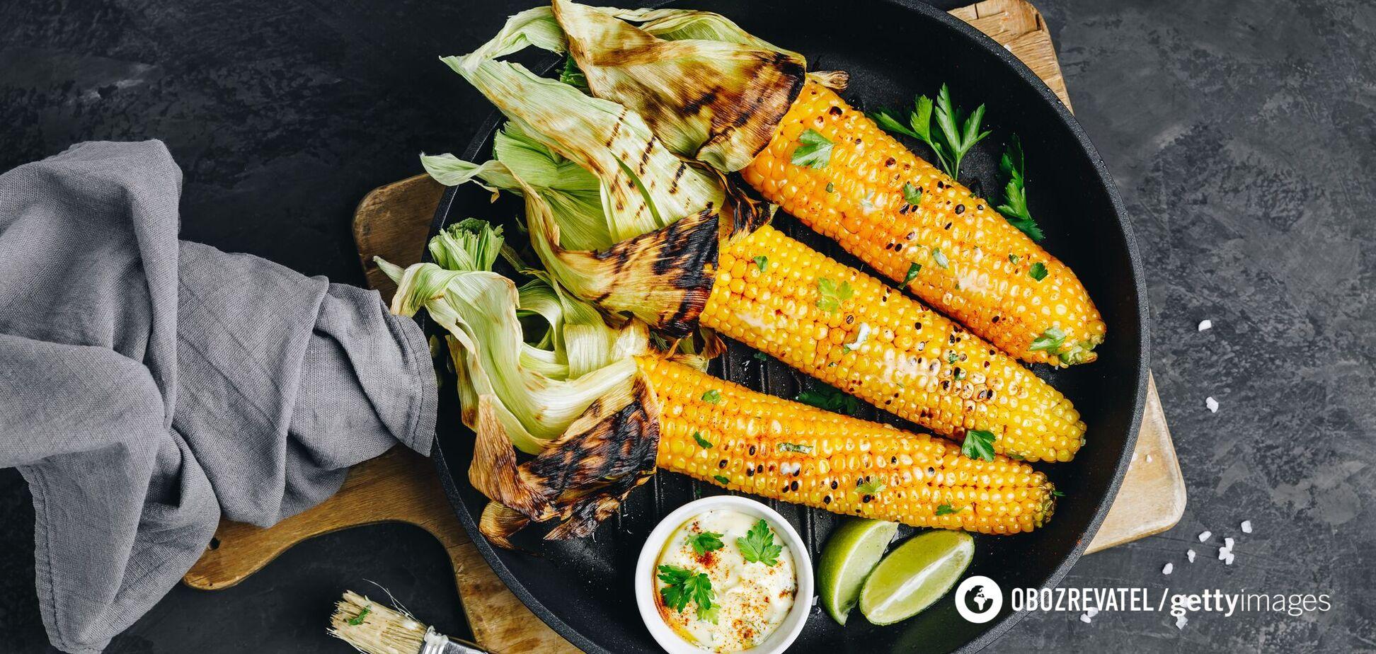 Как вкусно приготовить кукурузу дома