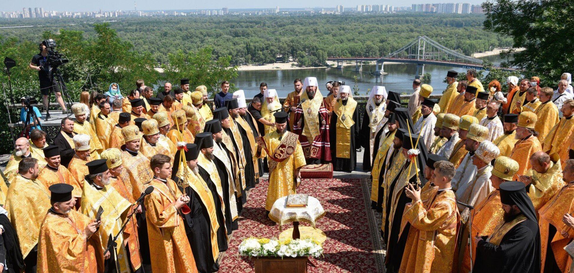 28 липня церква вшановує пам'ять князя Володимира Святославича, хрестителя Русі