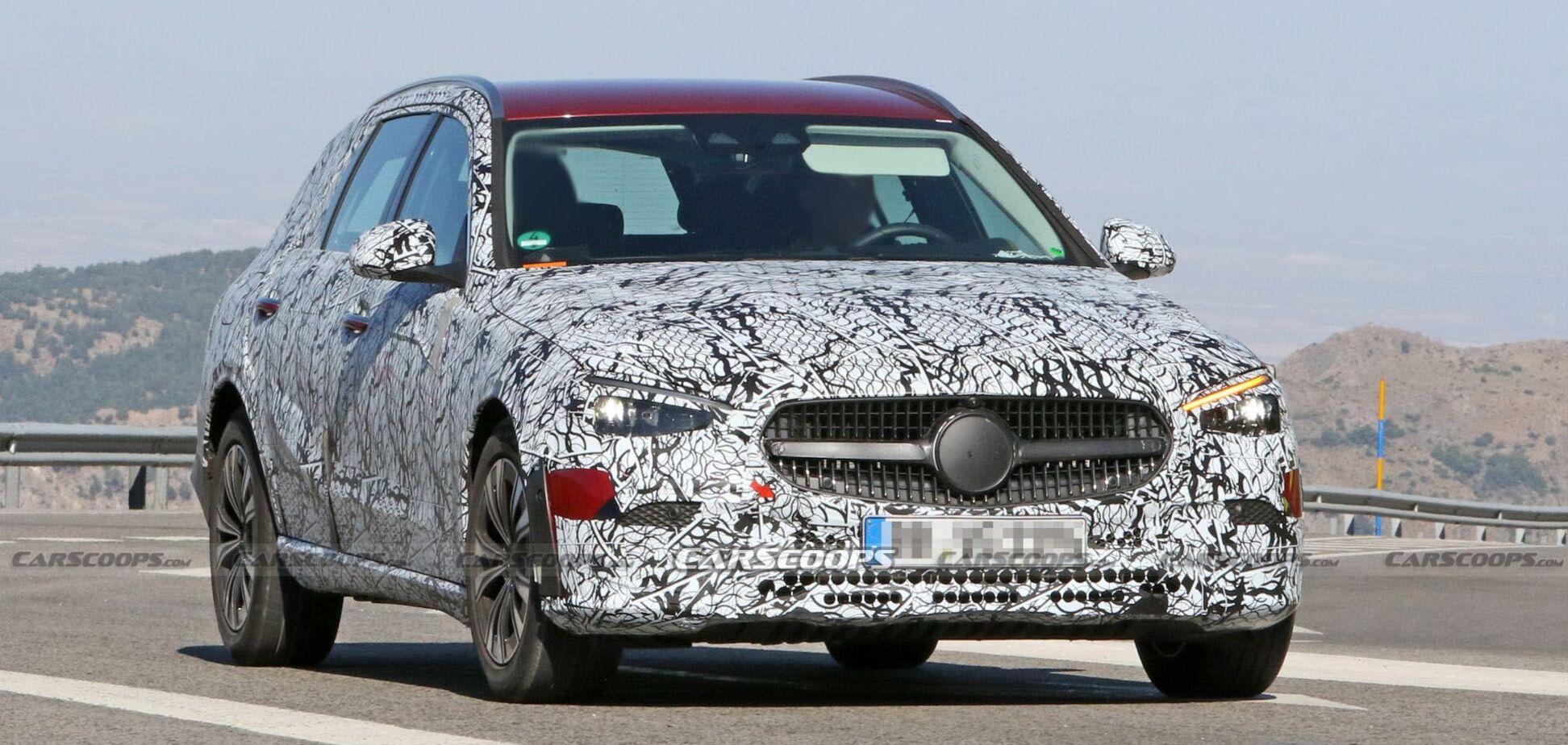 Новый Mercedes-Benz C-Class All-Terrain заметили на тестах