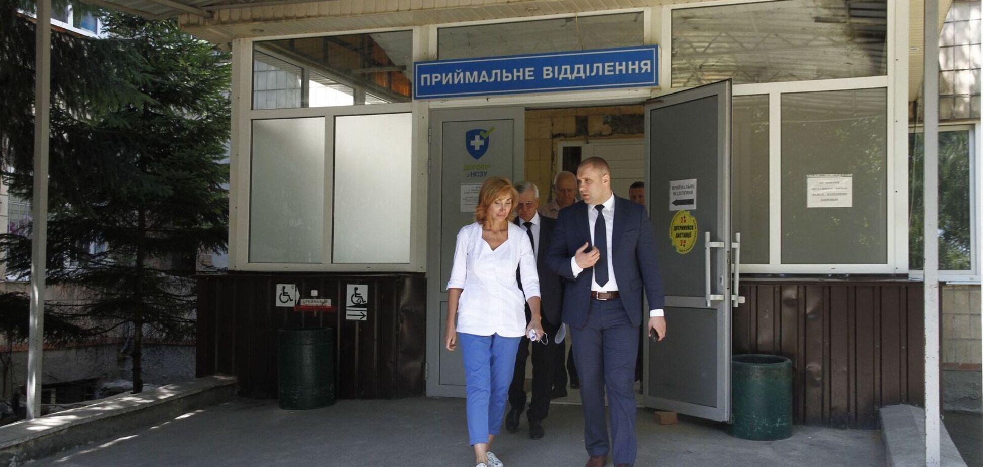 'Большая стройка' Зеленского создаст отделения неотложных состояний в 1-ой городской больнице Полтавы