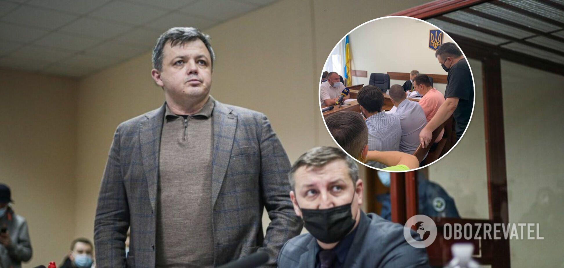 Семенченка знову відправили за ґрати: суд змінив запобіжний захід. Фото та відео