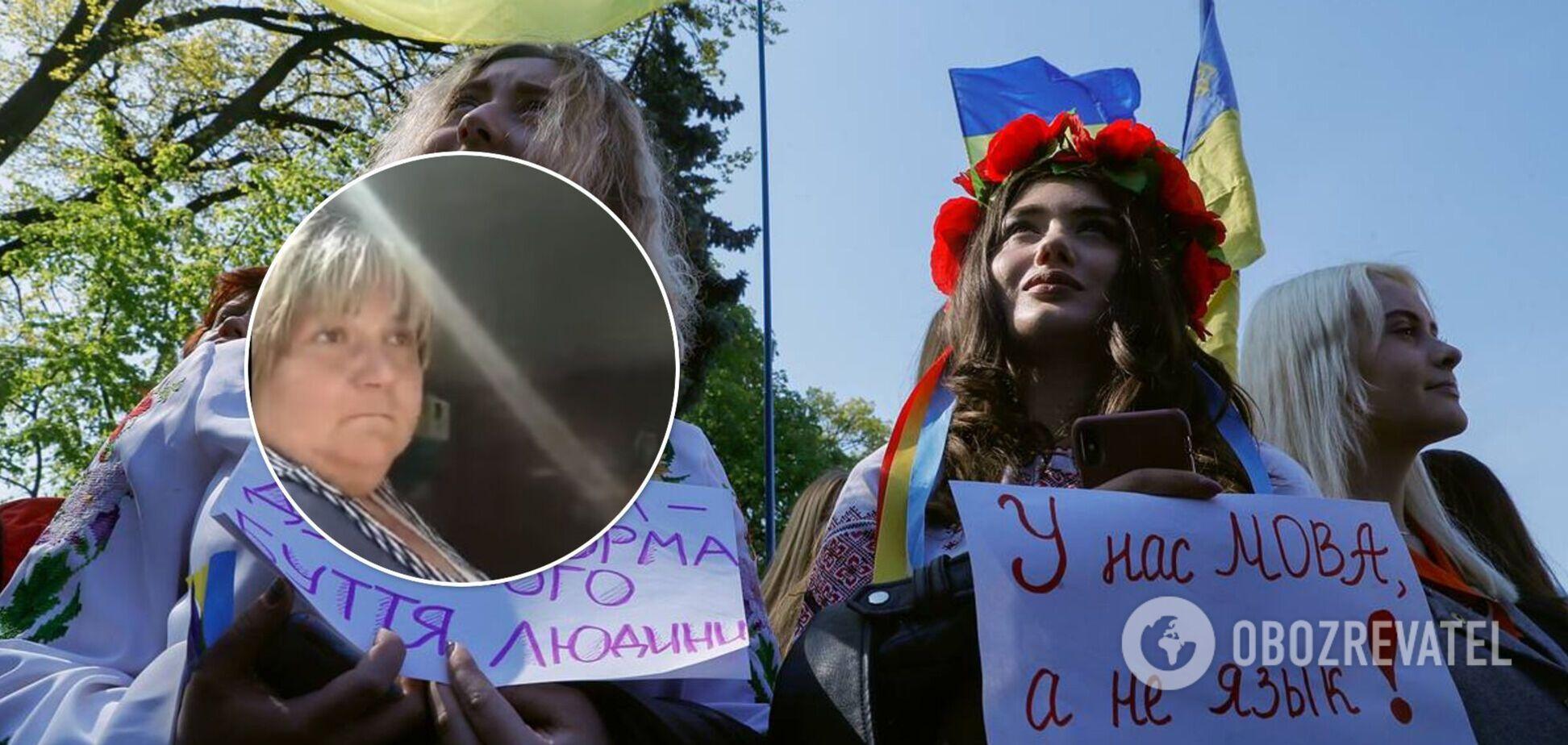 После языкового скандала в Харькове продавщицу киоска уволили: новые детали