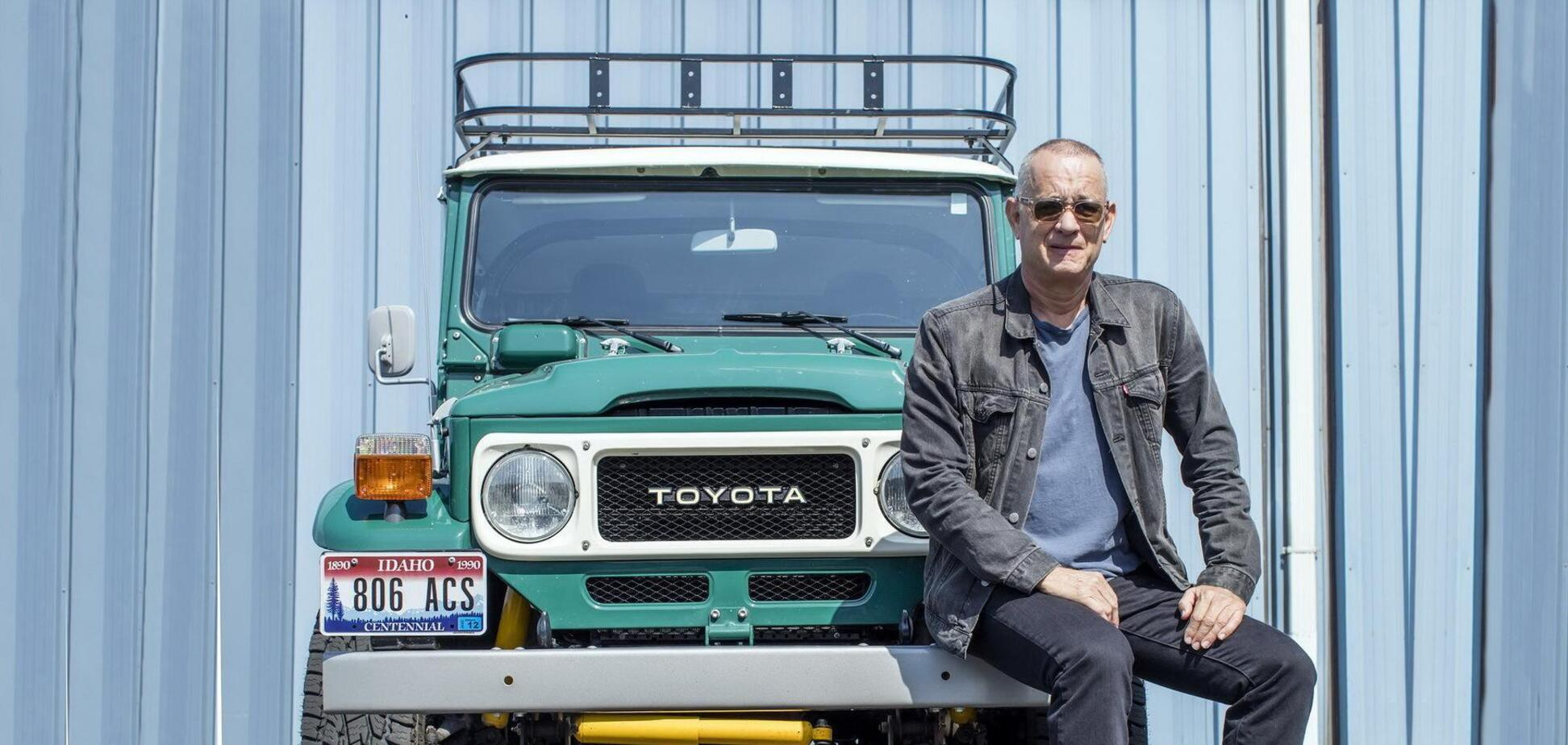 Том Генкс вирішив продати свій раритетний позашляховик