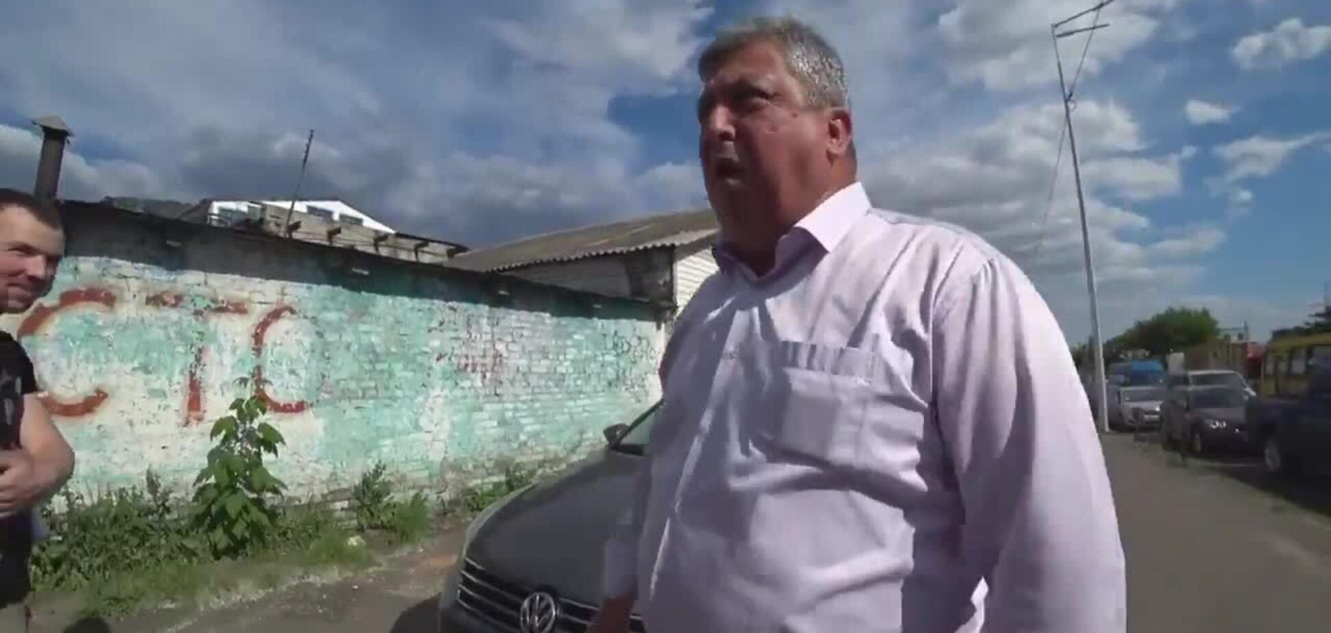 У Києві 'автохам' погрожував активістам