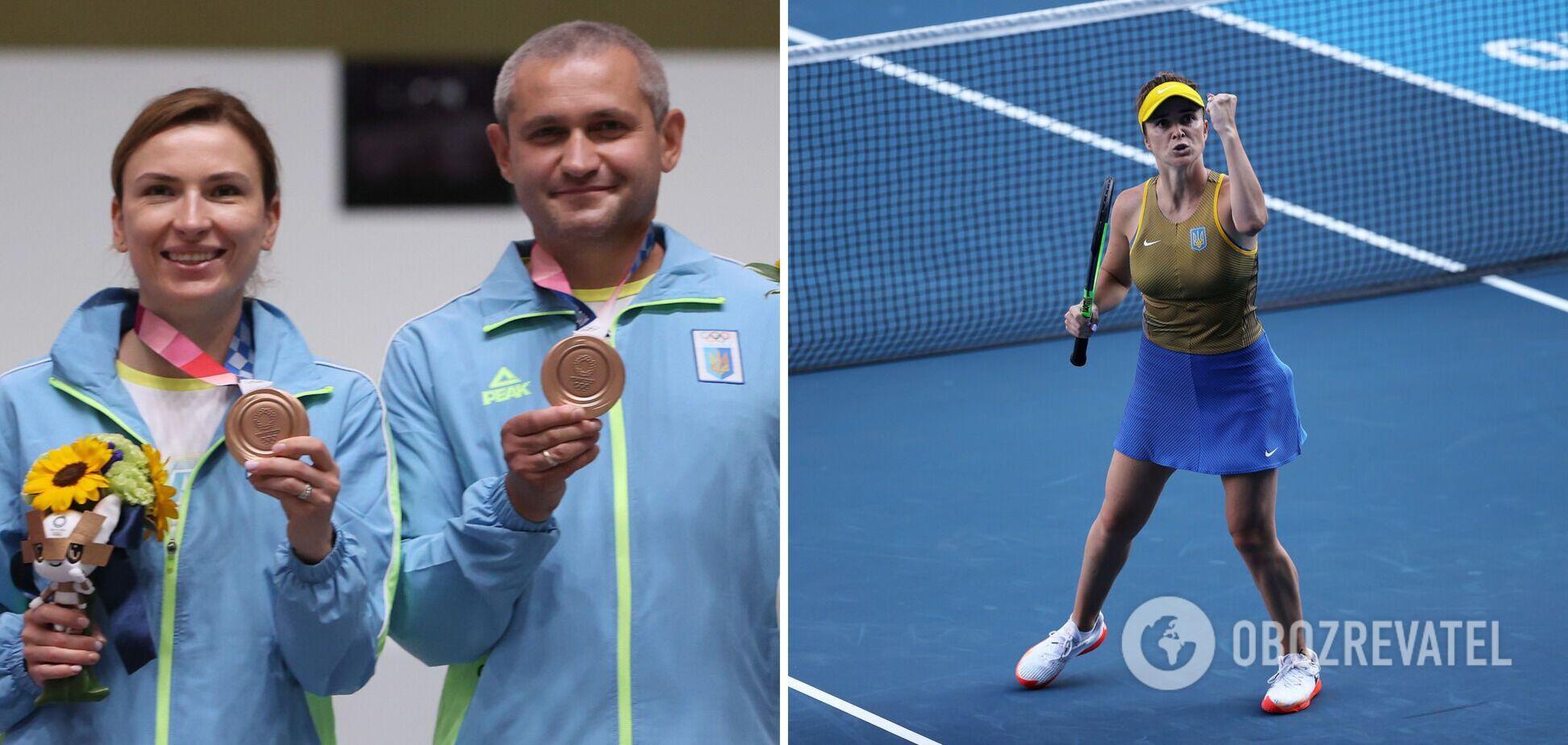 Костевич і Омельчук виграли третю медаль України, а Світоліна вийшла у чвертьфінал