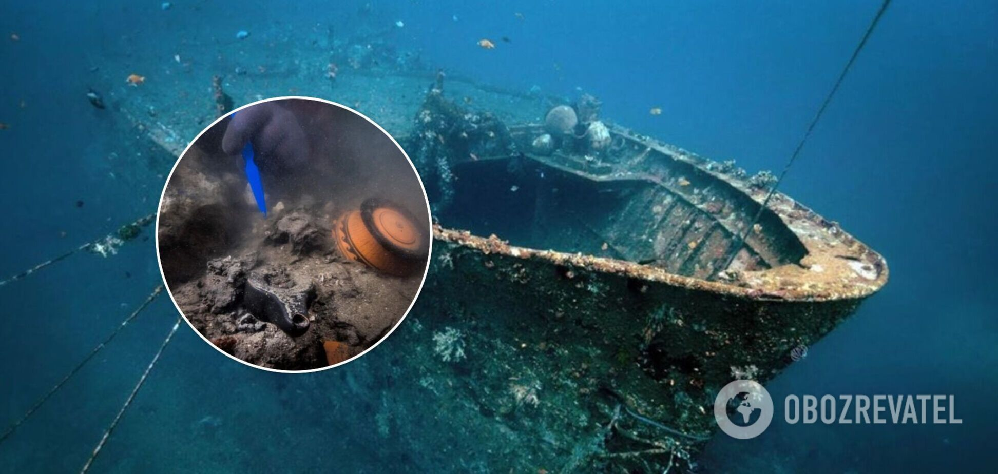 Археологи нашли затонувшее судно