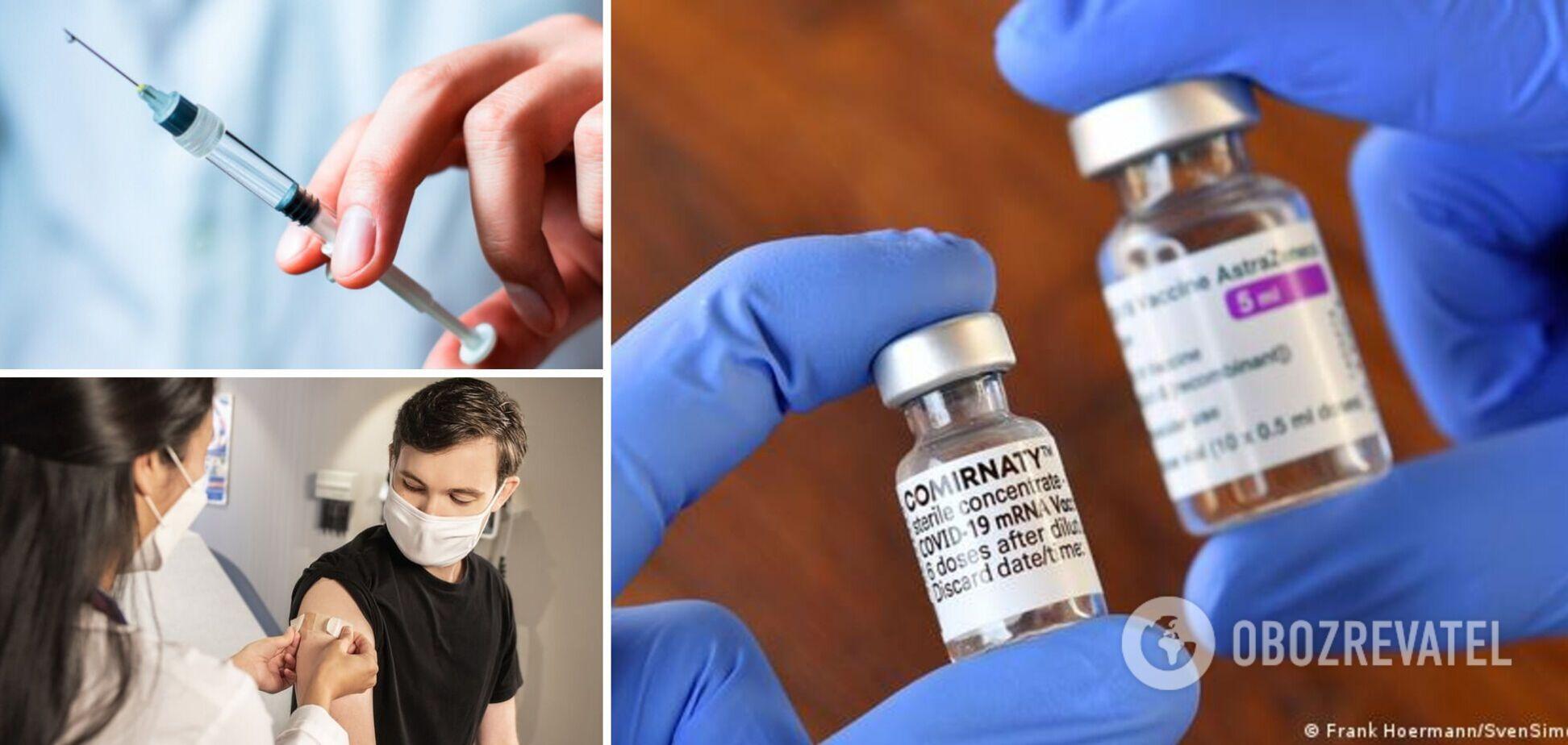 Комбинированная прививка AstraZeneca-Pfizer повышает уровень антител к COVID – исследование