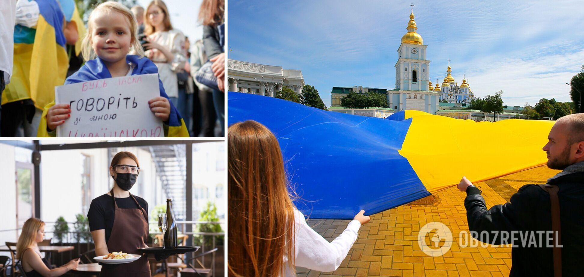 Скандалы из-за украинского языка продолжаются по всей стране