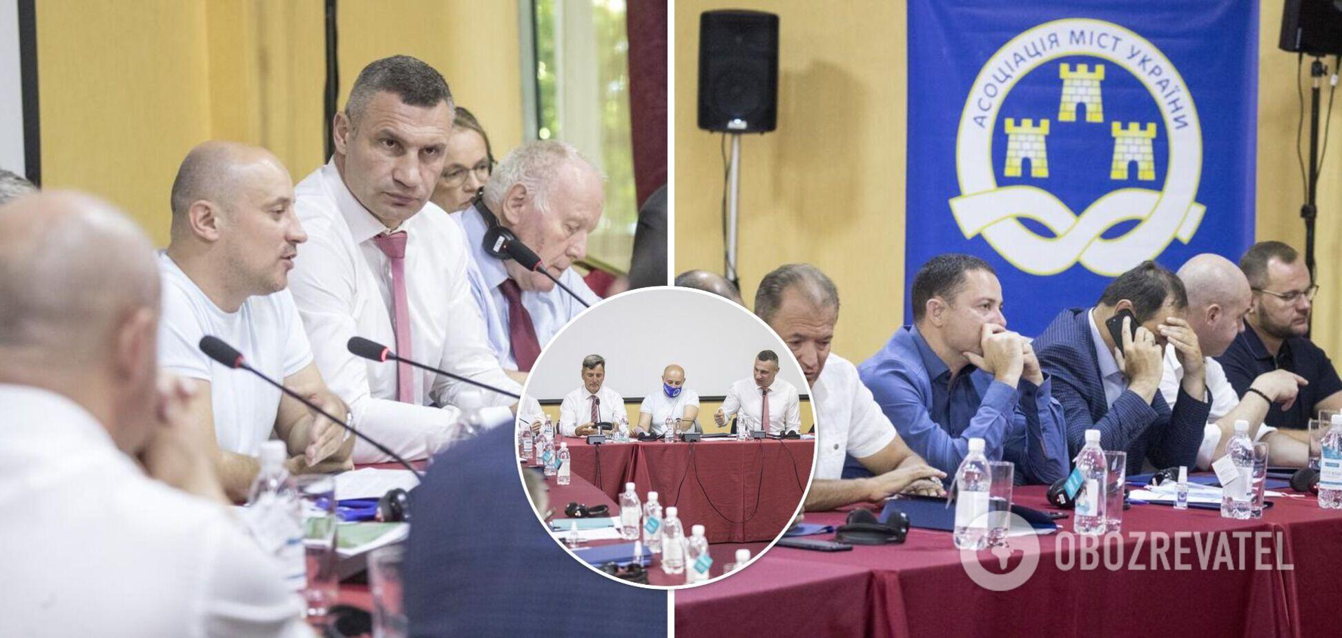 Кличко открыл Украинский муниципальный форум в Одессе и назвал главные задачи мероприятия