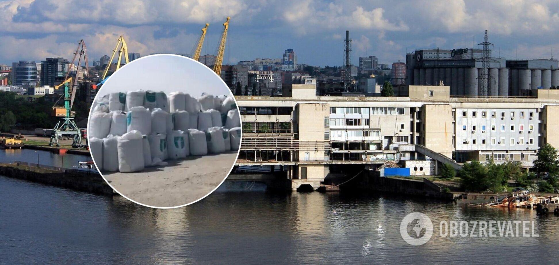 У річпорту Дніпра виявили небезпечні хімічні речовини – ЗМІ