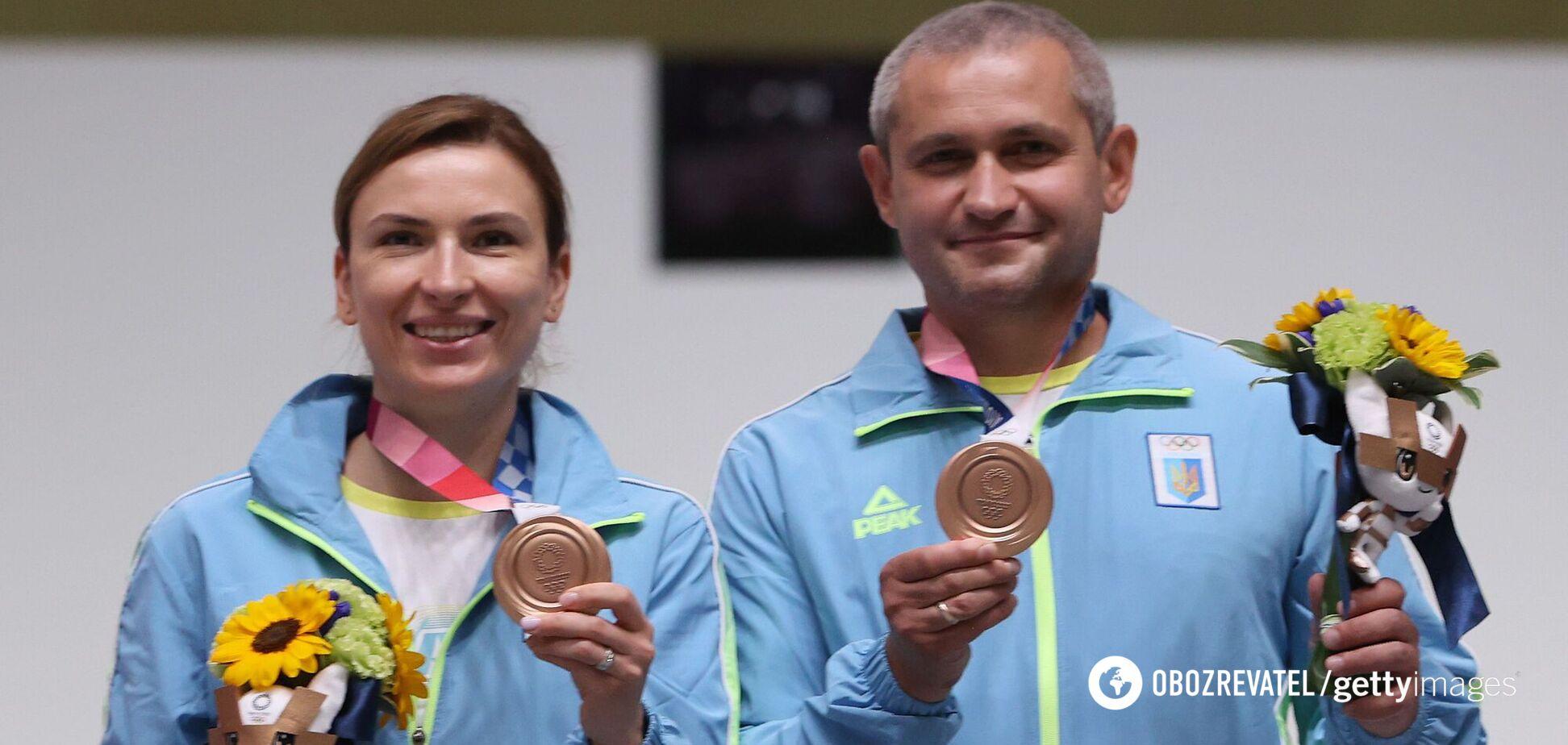 Олена Костевич і Олег Омельчук