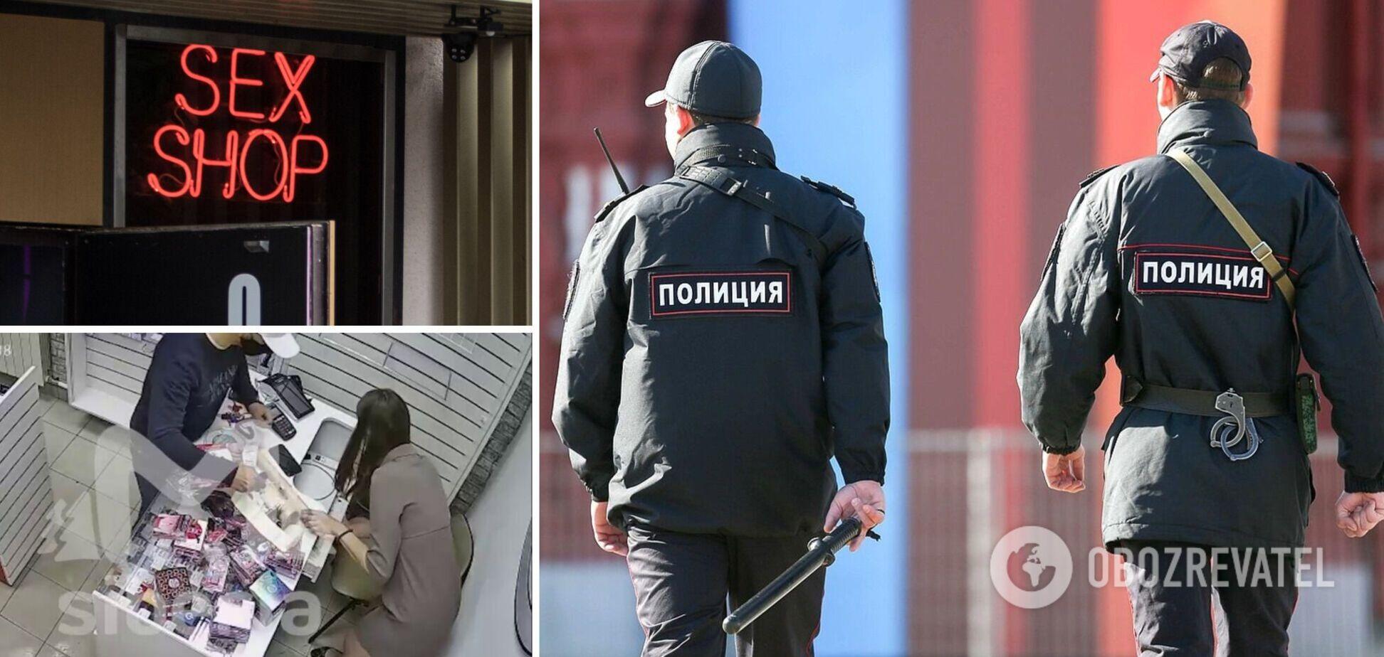 В России продавщица магазина интимных товаров отбилась от грабителя