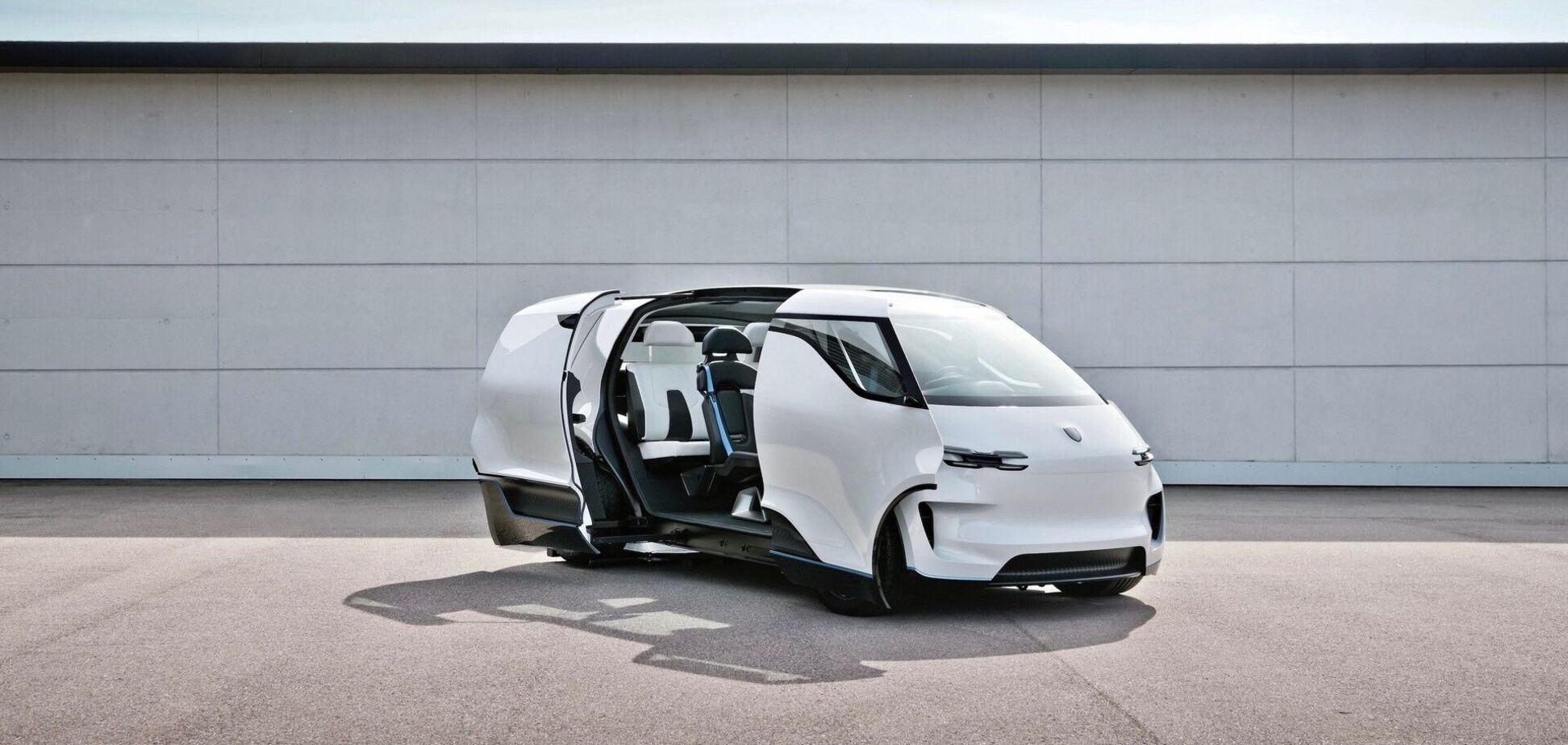 Porsche презентувала концептуальний електрових