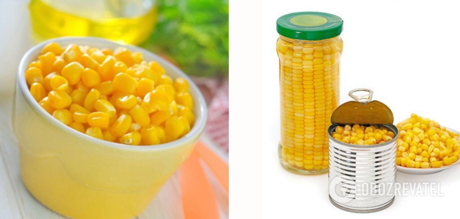 Як правильно законсервувати кукурудзу