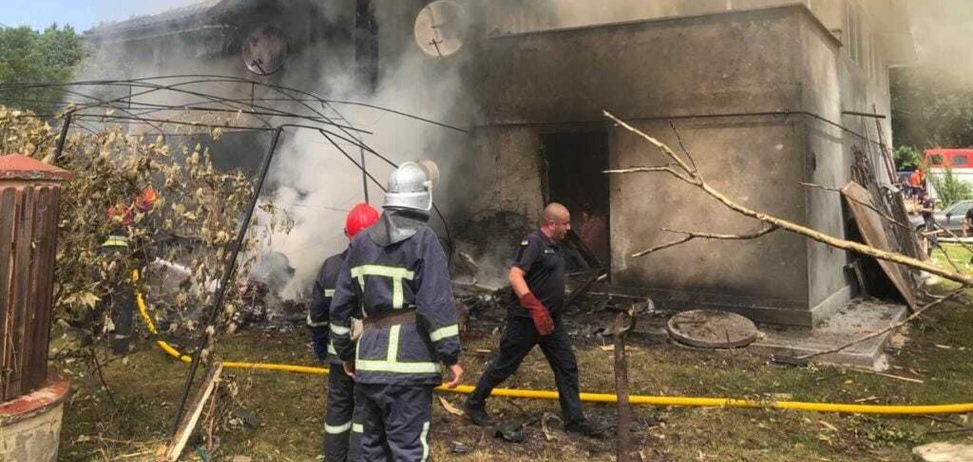 В Ивано-Франковской области упал легкомоторный самолет