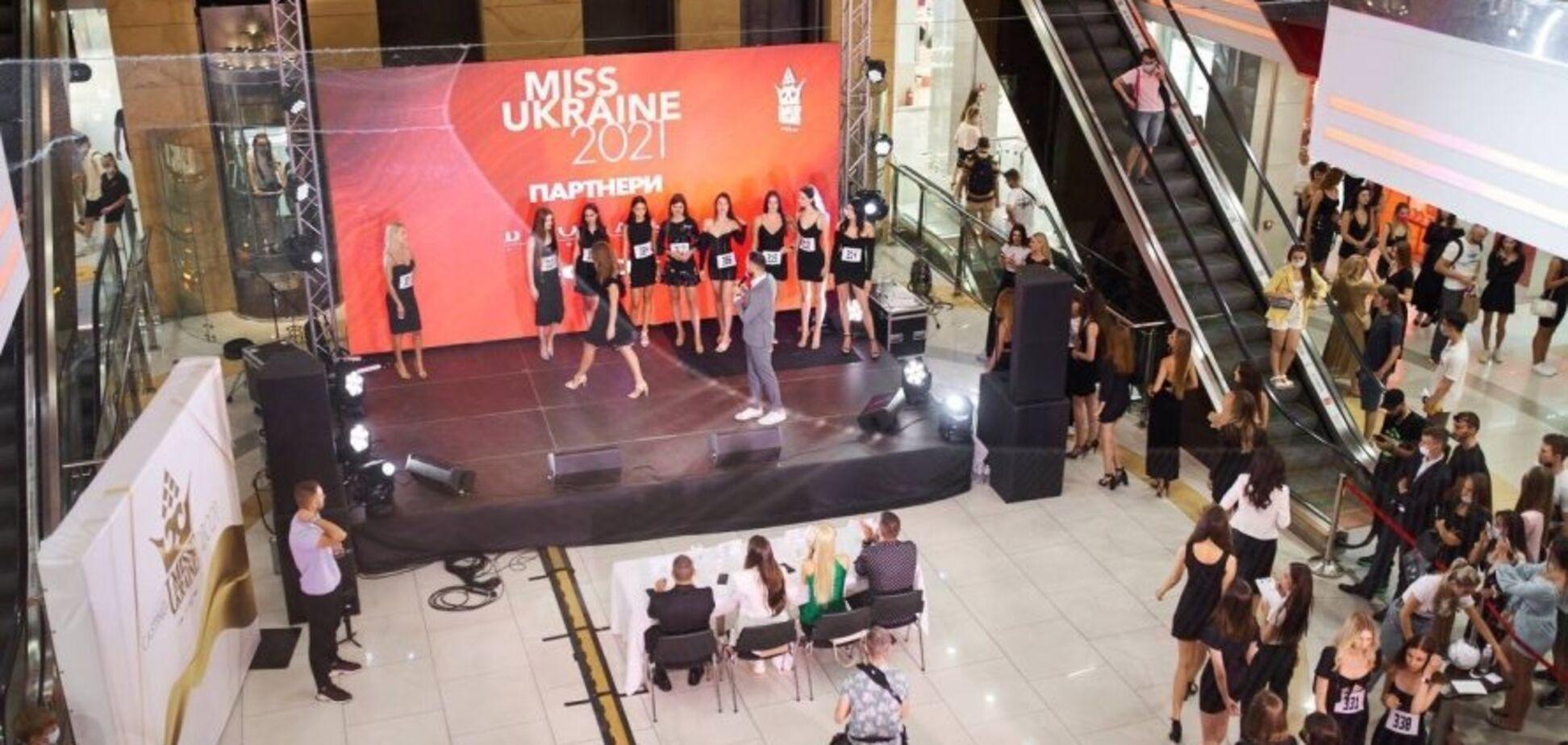 Рекордное количество девушек приняли участие в кастинге 'Мисс Украина' в Киеве