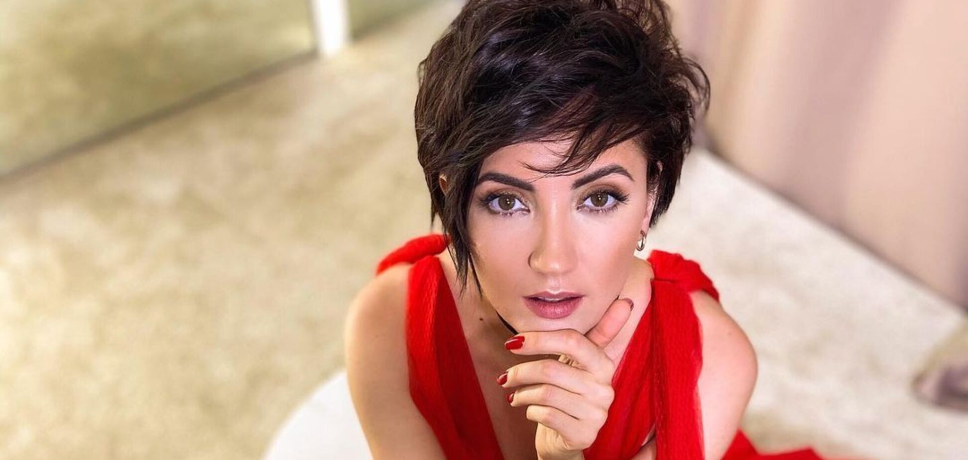 Украинская певица Ольга Цибульская