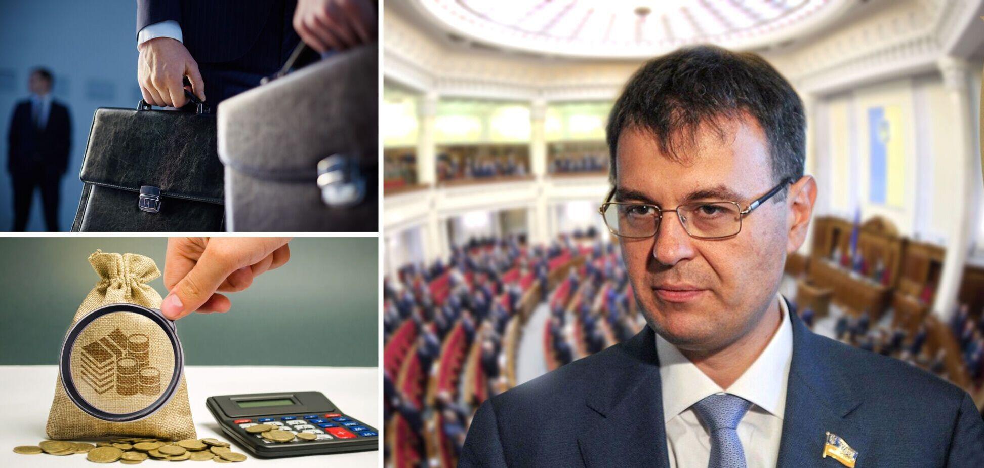 Данило Гетманцев розповів про податкові ініціативи