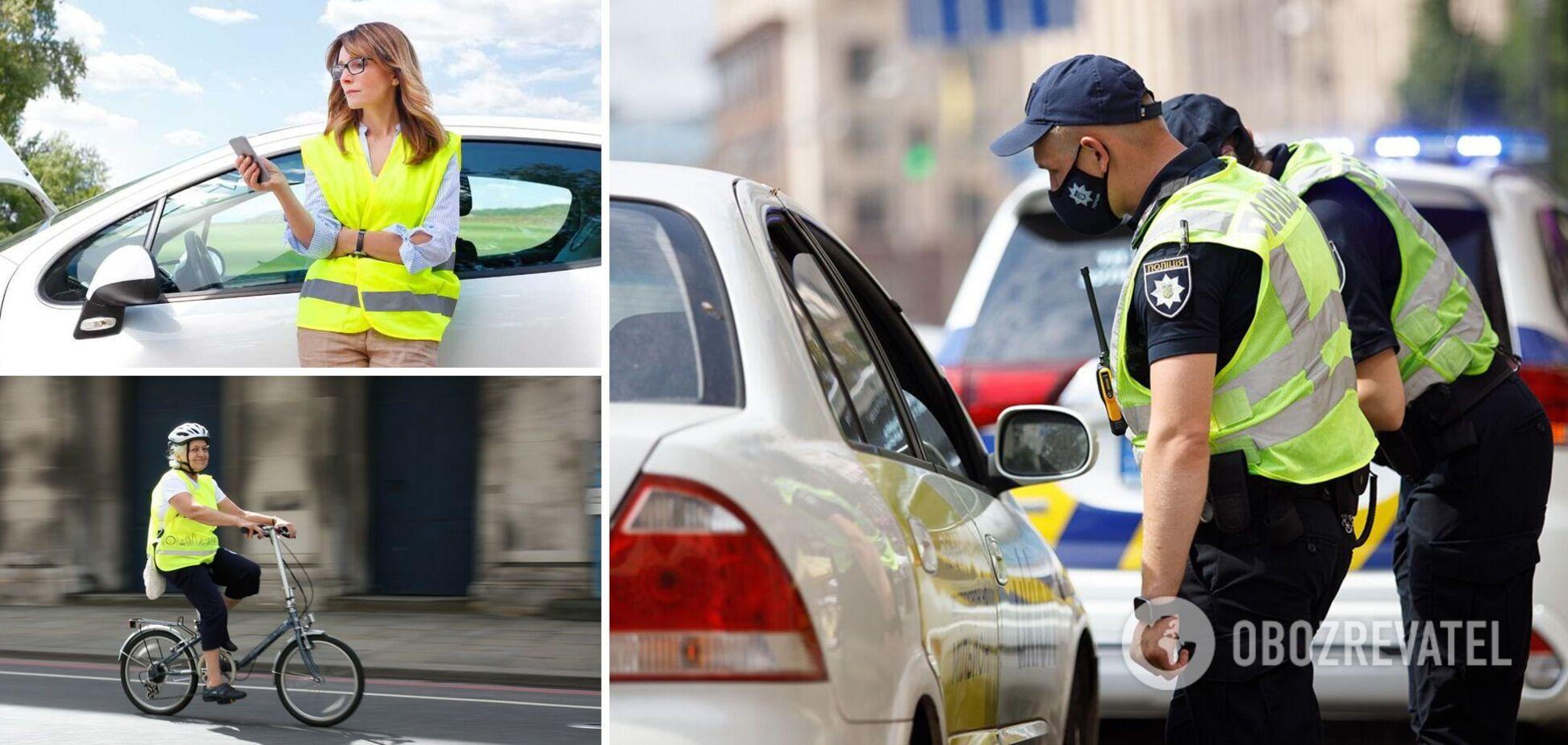 Водителей и пассажиров обяжут носить светоотражающие жилеты: какие новшества ждут украинцев