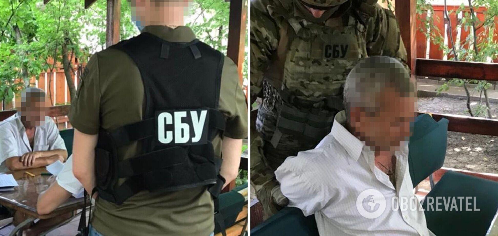 Контрразведчики СБУ на Черкасчине задержали агента РФ: собирал данные об артскладах. Фото и видео
